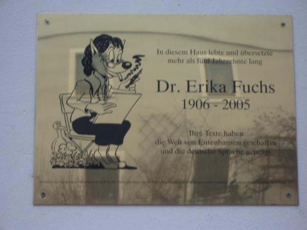 Dr. Erika Fuchs